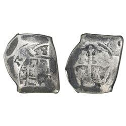 Mexico City, Mexico, cob 8 reales, (1)714J.