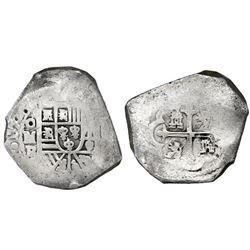 Mexico City, Mexico, cob 8 reales, 172(9)R.