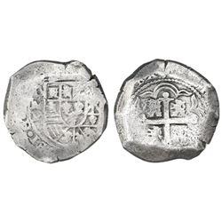 Mexico City, Mexico, cob 8 reales, (1729-30)R.