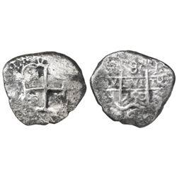 Potosi, Bolivia, cob 8 reales, 1750q.