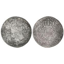 France (Toulouse mint), ecu, Louis XV, 1728-M.