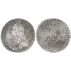 France (Montpelier mint), ecu, Louis XV, 1728-N.