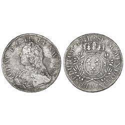 France (Paris mint), ecu, Louis XV, 1731-A.