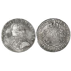 France (La Rochelle mint), ecu, Louis XV, 1738-H.