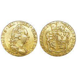 Great Britain (London, England), gold half guinea, George III, 1781.