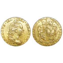 Great Britain (London, England), gold half guinea, George III, 1781.
