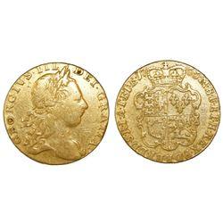 Great Britain (London, England), guinea, George III, 1766, rare provenance.