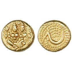 Mysore, India, gold pagoda, Haidar Ali (1761-82).