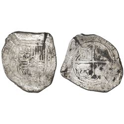 Mexico City, Mexico, cob 8 reales, 1653P, ex-Asian hoard.