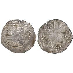 Potosi, Bolivia, cob 8 reales, (1617)M.