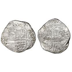 Potosi, Bolivia, cob 8 reales, 1620T.