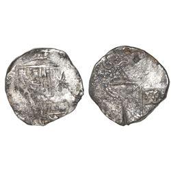 Potosi, Bolivia, cob 8 reales, 1634(T), ex-Asian hoard.