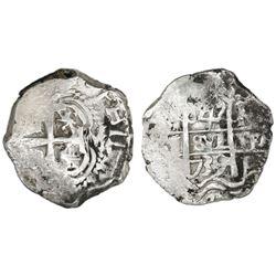 Potosi, Bolivia, cob 4 reales, 1739M.