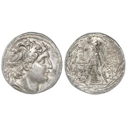 Kings of Cappadocia, AR tetradrachm, Ariarathos VII Philometer, ca. 106-101/0 BC, struck in the name