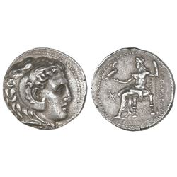 Kings of Macedon, AR tetradrachm, Alexander III ( the Great ), ca. 336-323 BC, struck 300-290 BC.