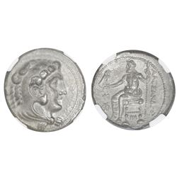 "Kings of Macedon, AR tetradrachm, Alexander III (""the Great""), 336-323 BC, Myriandros or Issos mint,"