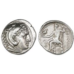"Kings of Macedon, AR tetradrachm, Alexander III (""the Great""), 336-323 BC, Amphipolis mint, struck u"