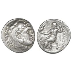 "Kings of Macedon, AR drachm, Alexander III (""the Great""), 336-323 BC, uncertain mint in Macedon or G"