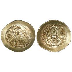 Byzantine Empire, AV histamenon nomisma, Michael VII, 1071-1078 AD, Constantinople mint.