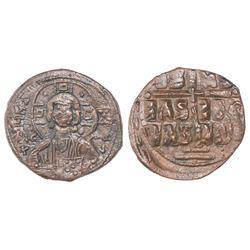 Byzantine Empire, AE follis, Basil II, 976-1025 AD.