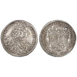 Kremnitz, Schwarzenberg (German States), taler, Ferdinand Wilhelm Eusebius, 1696MIM.