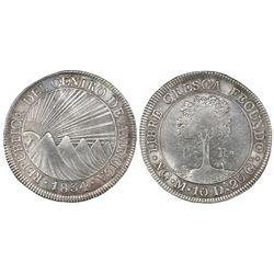 Guatemala (Central American Republic), 8 reales, 1834M.