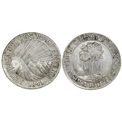 Guatemala (Central American Republic), 8 reales, 1841MA.