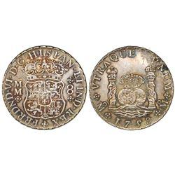 Mexico City, Mexico, pillar 8 reales, Ferdinand VI, 1759MM.