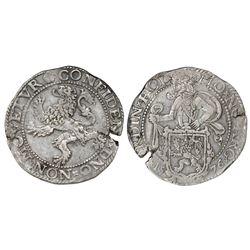 """Holland, United Netherlands, """"lion"""" daalder, 1576."""