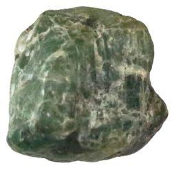 Crude natural emerald from the 1715 Fleet, 8 carats.