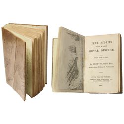 Tiny book made from wood from Royal George (1782) published in 1841 (first edition, 120 pp).