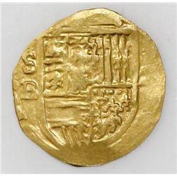 Seville, Spain, cob 2 escudos, Philip III, assayer B.
