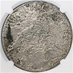 France (unknown mint), ecu, Louis XV, 1734, NGC genuine / La Dramadaire [sic].