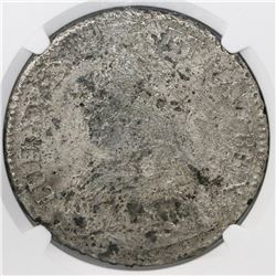 France (Toulouse mint), ecu, Louis XV, (1726-40)-M, small bust, NGC genuine / La Dramadaire [sic].