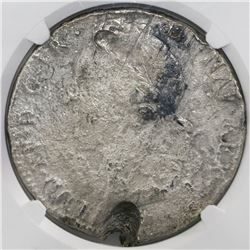 France (unknown mint), ecu, Louis XV, 1747, large bust, NGC genuine / La Dramadaire [sic].