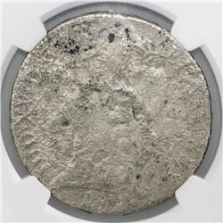 France (Nantes mint), ecu, Louis XV, 1755-T, large bust, NGC genuine / La Dramadaire [sic].