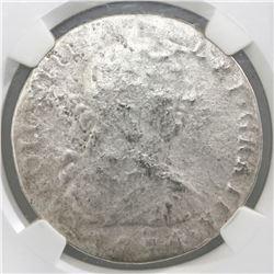 Mexico City, Mexico, bust 8 reales, Charles III, 1774(FM), NGC genuine / El Cazador.