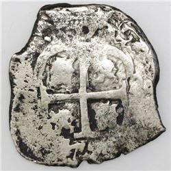 Potosi, Bolivia, cob 2 reales, 1679V.