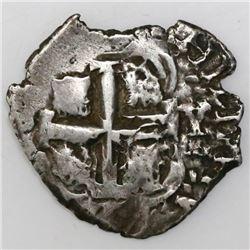 Potosi, Bolivia, cob 2 reales, 1710(?)Y.