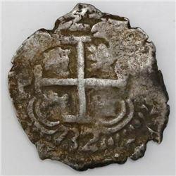 Potosi, Bolivia, cob 2 reales, 1732M.
