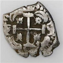 Potosi, Bolivia, cob 2 reales, 1753q.