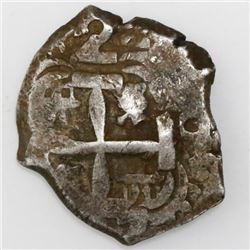 Potosi, Bolivia, cob 2 reales, 1757q.