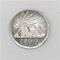 Guatemala (Central American Republic), 1/4 real, 1844.