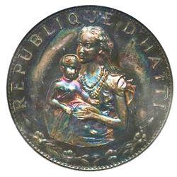 Haiti, proof 50 gourdes, 1973, NGC PF65.