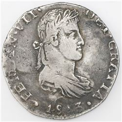 Guadalajara, Mexico, bust 8 reales, Ferdinand VII, 1813/2MR.