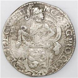 "Westfriesland, United Netherlands, ""lion"" daalder, 1624."