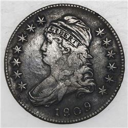 USA (Philadelphia mint), half dollar Capped Bust, 1809.