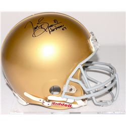 Tim Brown Signed Notre Dame Full-Size Helmet Inscribed  Heisman '87  (Radtke COA  Brown Hologram)