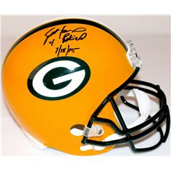 Brett Favre Signed LE Packers Full-Size Helmet Inscribed  4 Retired 7/18/15  #16/44 (Favre Hologram
