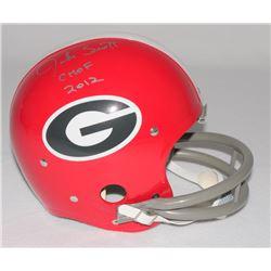 "Jake Scott Signed Georgia Full-Size Throwback Suspension Helmet Inscribed ""CHOF 2012"" (Radtke COA)"